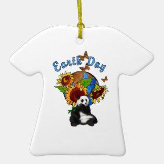 Planeta de la panda del Día de la Tierra Ornamentos De Reyes Magos