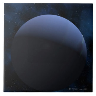 Planeta de Neptuno Azulejo Cuadrado Grande
