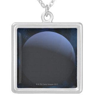 Planeta de Neptuno Colgante Cuadrado