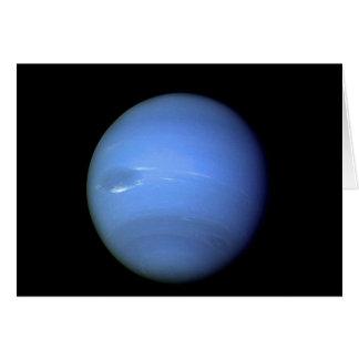 Planeta de Neptuno en nuestra Sistema Solar Tarjeta De Felicitación