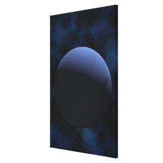 Planeta de Neptuno Impresión En Tela