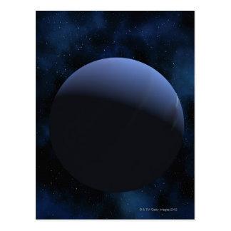 Planeta de Neptuno Tarjetas Postales