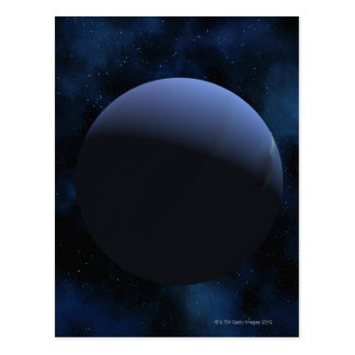 Planeta de Neptuno Tarjeta Postal