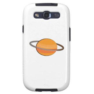 Planeta de Saturn Samsung Galaxy SIII Funda