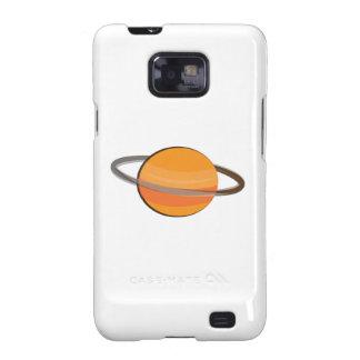 Planeta de Saturn Samsung Galaxy SII Fundas