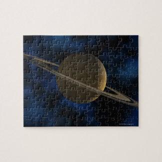 Planeta de Saturn Rompecabeza