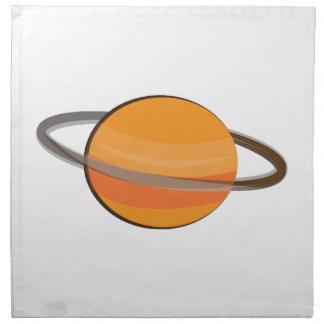 Planeta de Saturn Servilleta