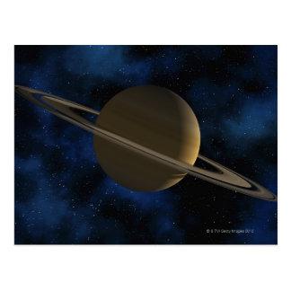Planeta de Saturn Postal
