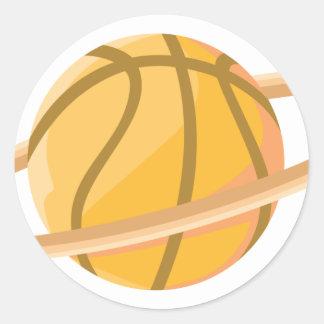 Planeta del baloncesto etiqueta