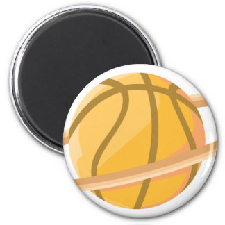 Planeta del baloncesto imán redondo 5 cm
