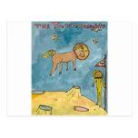 Planeta del caballo del espacio postales
