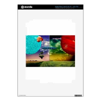 Planeta del caos pegatina skin para iPad 3