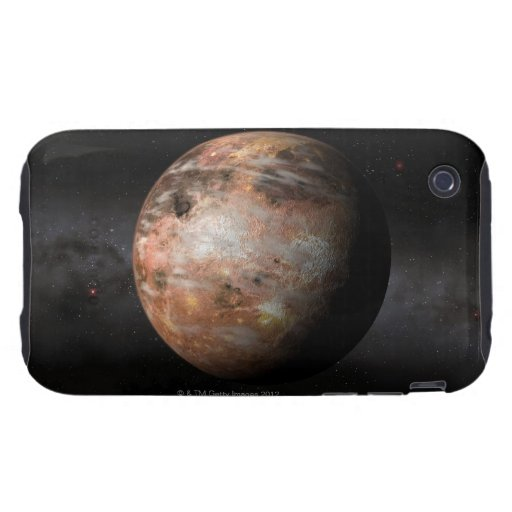 Planeta del carbono iPhone 3 tough coberturas
