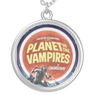 Planeta del collar del cartel de película de los