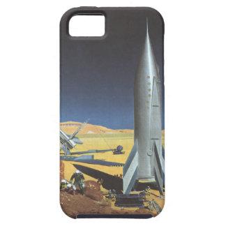Planeta del desierto de la ciencia ficción del funda para iPhone SE/5/5s