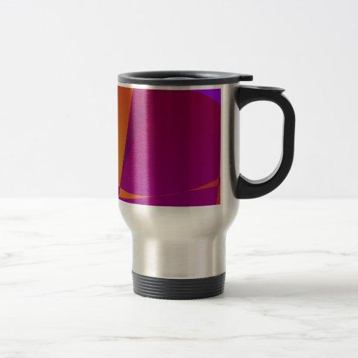 Planeta del fuego tazas de café
