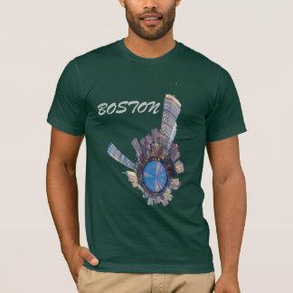 planeta del horizonte de Boston mini Playera
