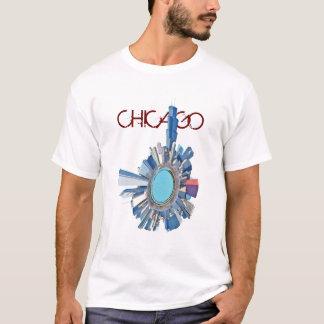 planeta del horizonte de Chicago Playera