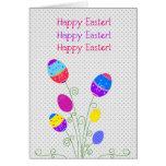 Planeta del huevo de Pascua Tarjeta