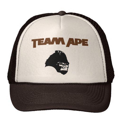 Planeta del mono del equipo del gorra de béisbol d