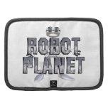 Planeta del robot de la CAMISETA Planificadores