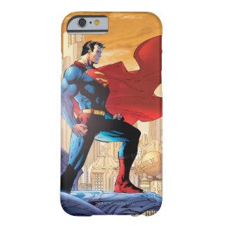 Planeta diario del superhombre funda de iPhone 6 barely there