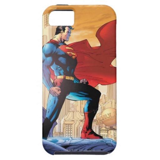 Planeta diario del superhombre funda para iPhone SE/5/5s