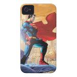 Planeta diario del superhombre iPhone 4 carcasas