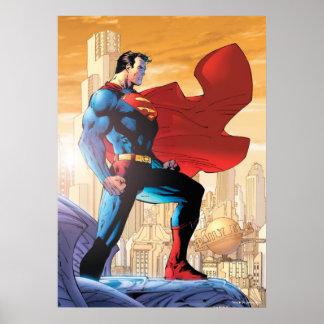 Planeta diario del superhombre póster