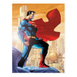 Planeta diario del superhombre tarjeta postal