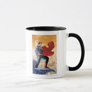 Planeta diario del superhombre taza