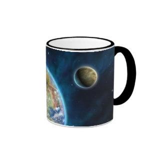 Planeta Earthlike Taza A Dos Colores