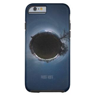 Planeta extranjero casero del teléfono pequeño funda para iPhone 6 tough