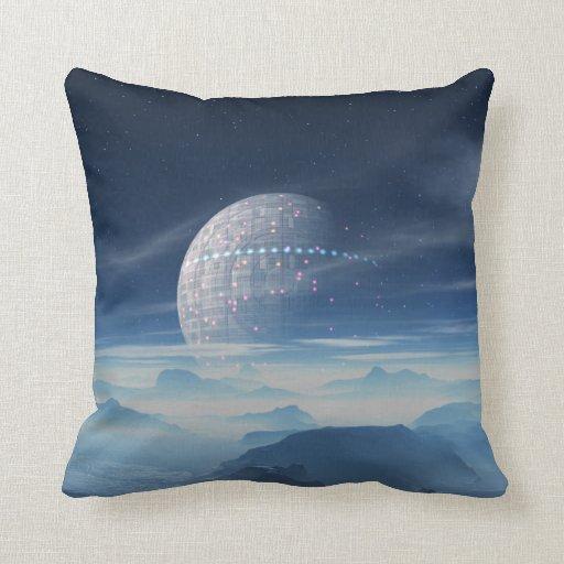Planeta extranjero de Tranus con la almohada de