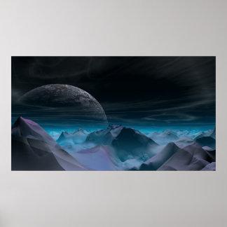 Planeta extranjero póster