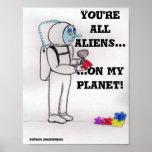Planeta extranjero poster