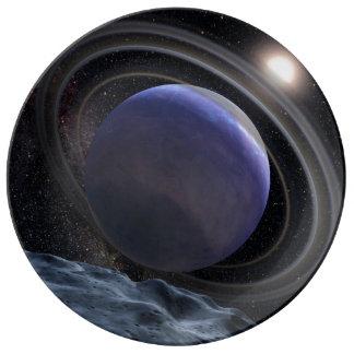 Planeta Extrasolar Platos De Cerámica