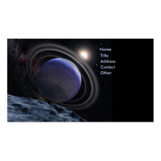 Planeta Extrasolar Tarjetas De Visita