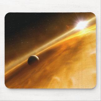 Planeta Fomalhaut B que está en órbita una estrell Tapetes De Raton