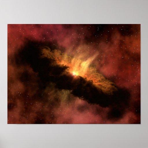 Planeta-Formación del disco