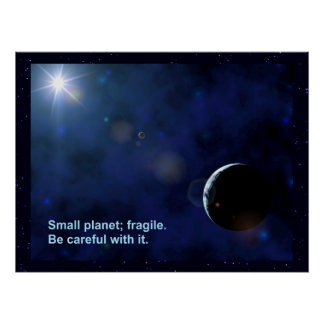 Planeta frágil posters