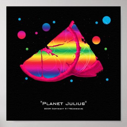 Planeta Julio Póster