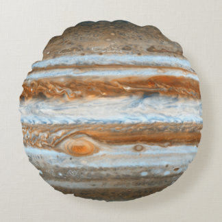 Planeta Júpiter Cojín Redondo