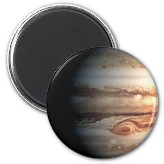 PLANETA JÚPITER (Sistema Solar) ~.png Imán Redondo 5 Cm