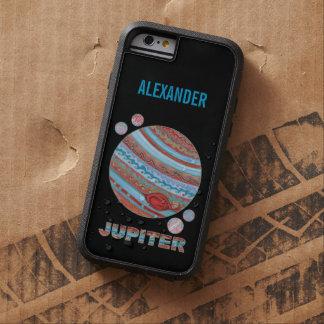 Planeta Júpiter y friki colorido del espacio de Funda De iPhone 6 Tough Xtreme