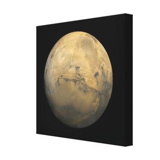 Planeta Marte en la Sistema Solar Lona Estirada Galerías