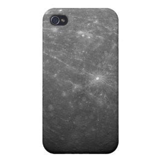 Planeta Mercury iPhone 4 Carcasa