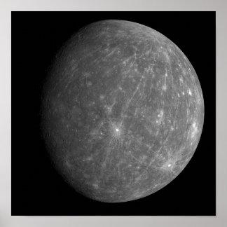 Planeta Mercury Póster