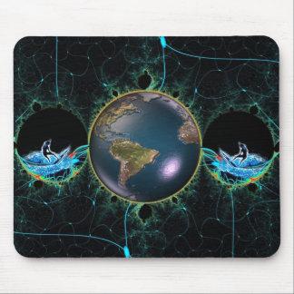 Planeta Mousepad de la resaca Tapete De Ratón