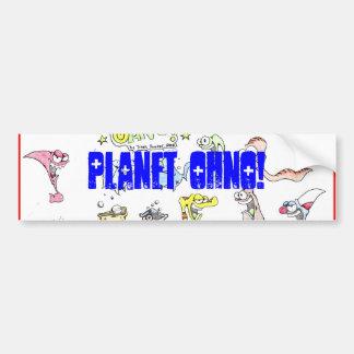 ¡Planeta OHNO! Parachoque Etiqueta De Parachoque